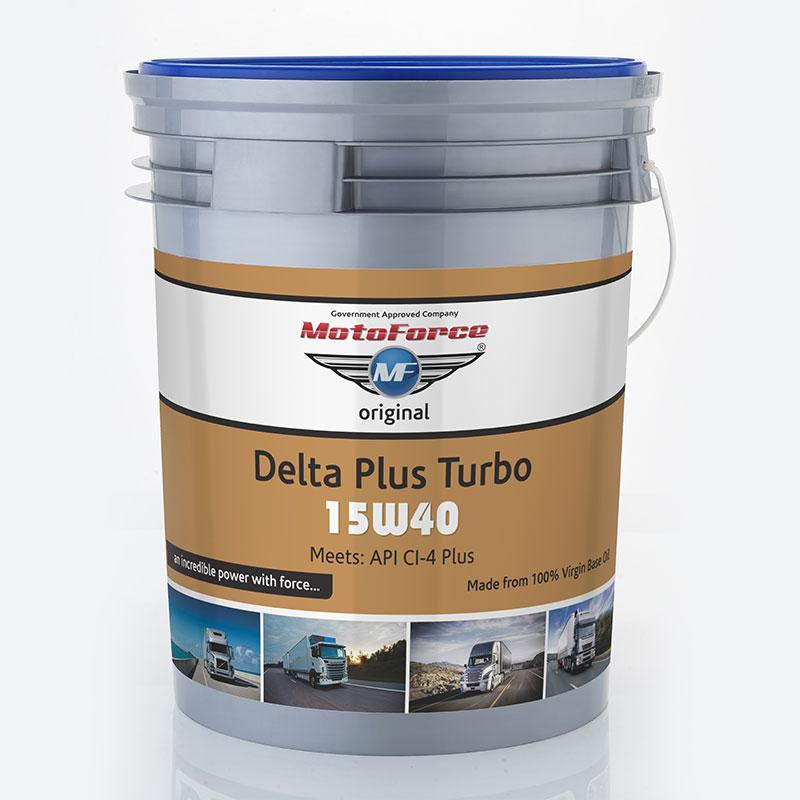 Motoforce Delta Plus Turbo 15w40 (CI-4 PLUS)